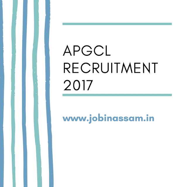 Process of APGCL Recruitment 2017 in August