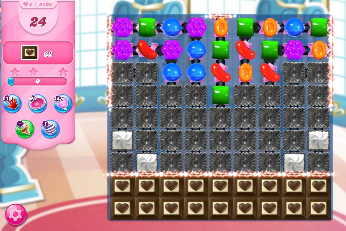 Candy Crush Saga level 5402