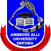 [Revised] Ambrose Alli University Academic Calendar – 2nd Semester 2016/17