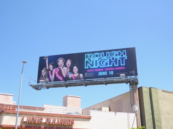 Rough Night movie billboard