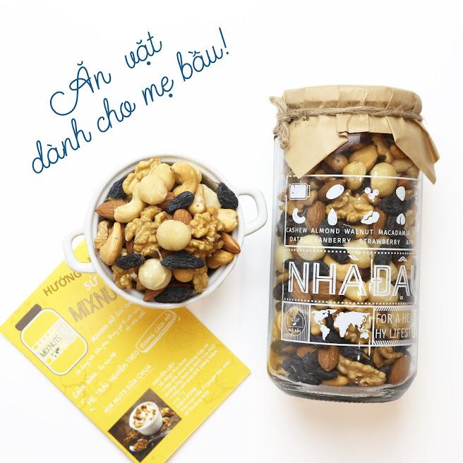 Mixnuts dinh dưỡng để thai nhi không bị thiếu chất