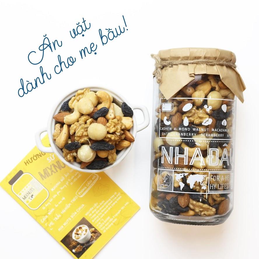 [A36] Mixnuts ăn vặt cho Mẹ Bầu thiếu chất tẩm bổ