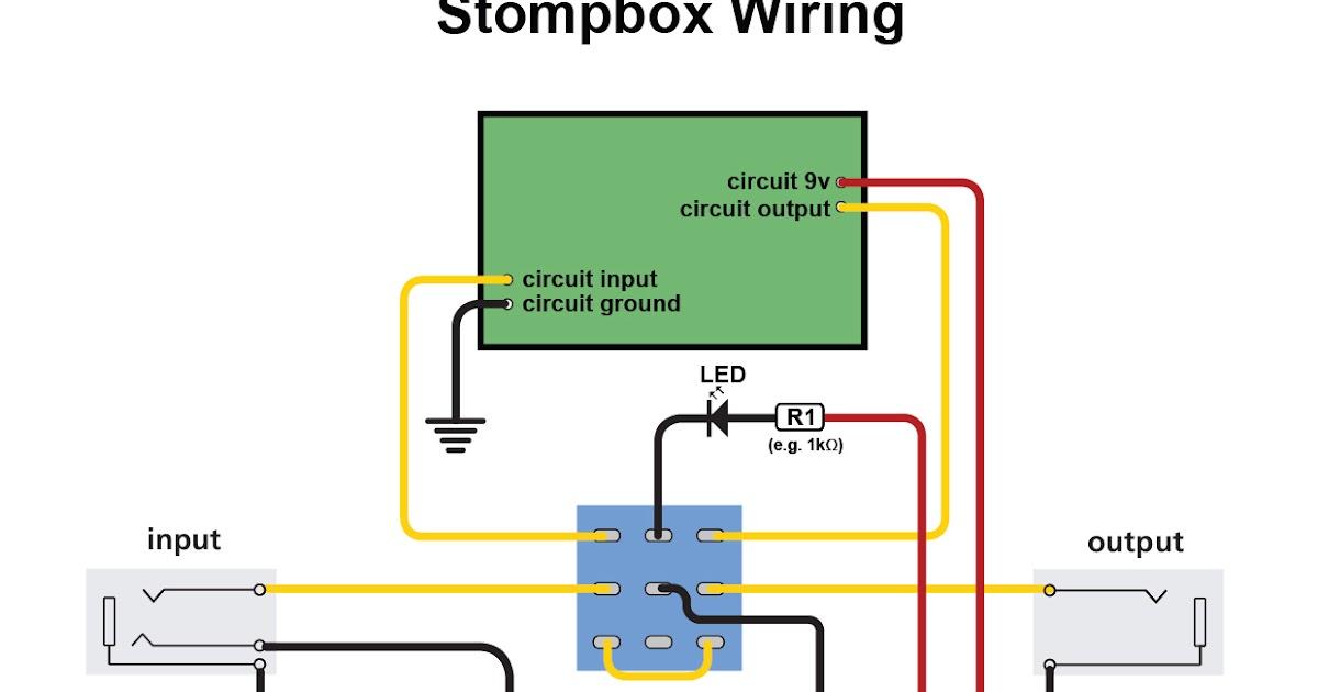 Stomp Box Wiring - Wiring Diagrams