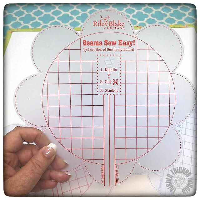 Giveaway!!! Win a Seams Sew Easy Notion by Lori Holt of Bee In My Bonnet sponsored by the Fat Quarter Shop at www.thistlethicketstudio.com. Ends 9-27-15 at midnight Eastern US Time.