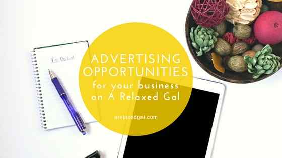 Advertising opportunities for your business on arelaxedgal.com