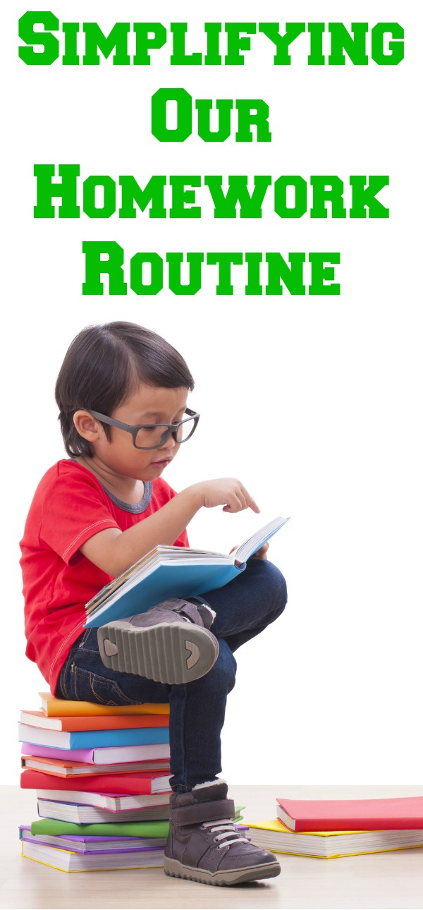 Simplifying Our Homework Routine, CenturyLink Price for Life, Homework Routine, Homework Routines for families,