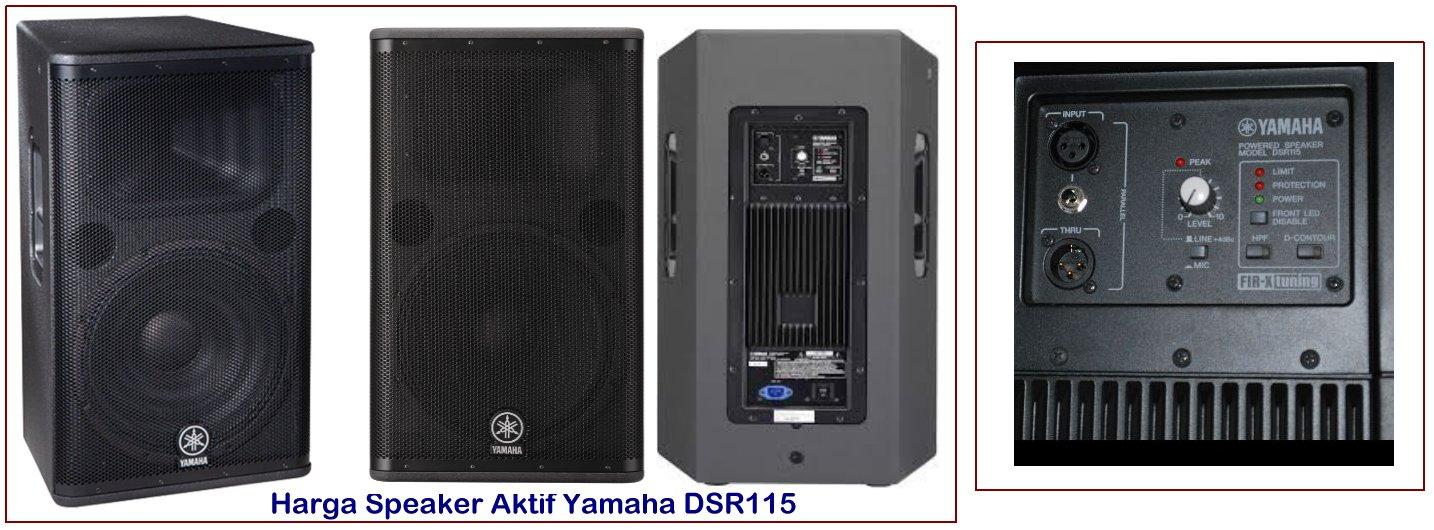 Harga Speaker Yamaha  Inch