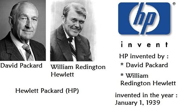 Bill Hewlett e Dave Packard - Fundadores da Hewlett-Packard (HP) (Imagem: Reprodução/Pinterest)