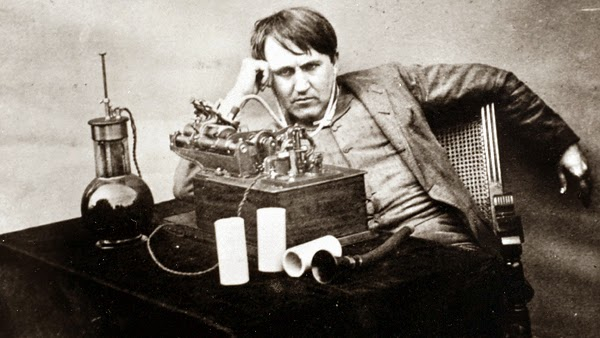 Scientist Thomas Alva Edison Photo