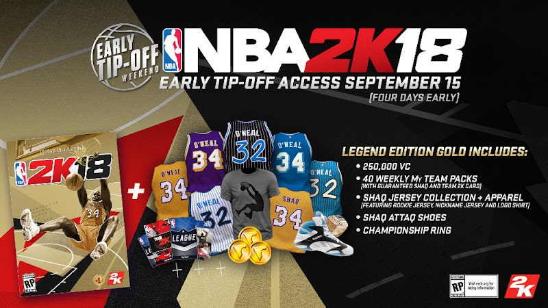 nba 2k18 legend gold edition