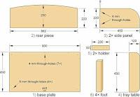 Planos para cunas de madera
