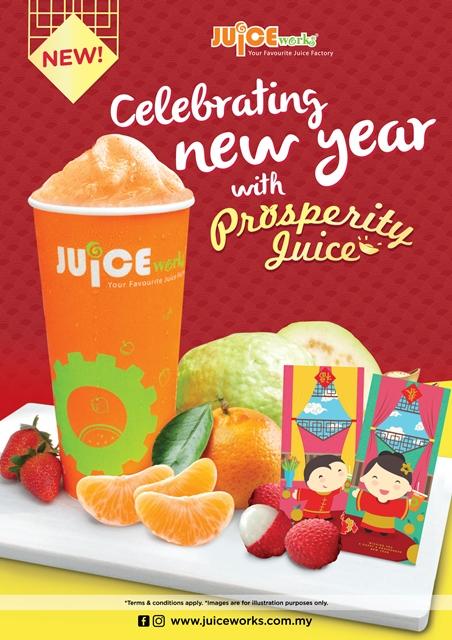 Prosperity Juice, Juice Works Malaysia