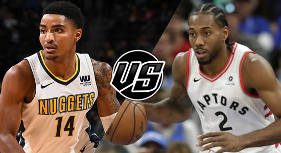 Live Streaming List: Denver Nuggets vs Toronto Raptors 2018-2019 NBA Season