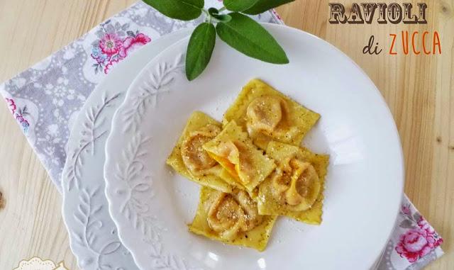 Ravioli di zucca (Raviöi de ssüca)