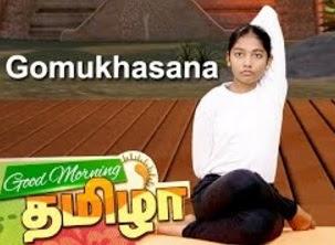 Yoga poses, Gomukhasana   VallamaiKol   Good Morning Tamizha 28-11-2016 Puthuyugam Tv