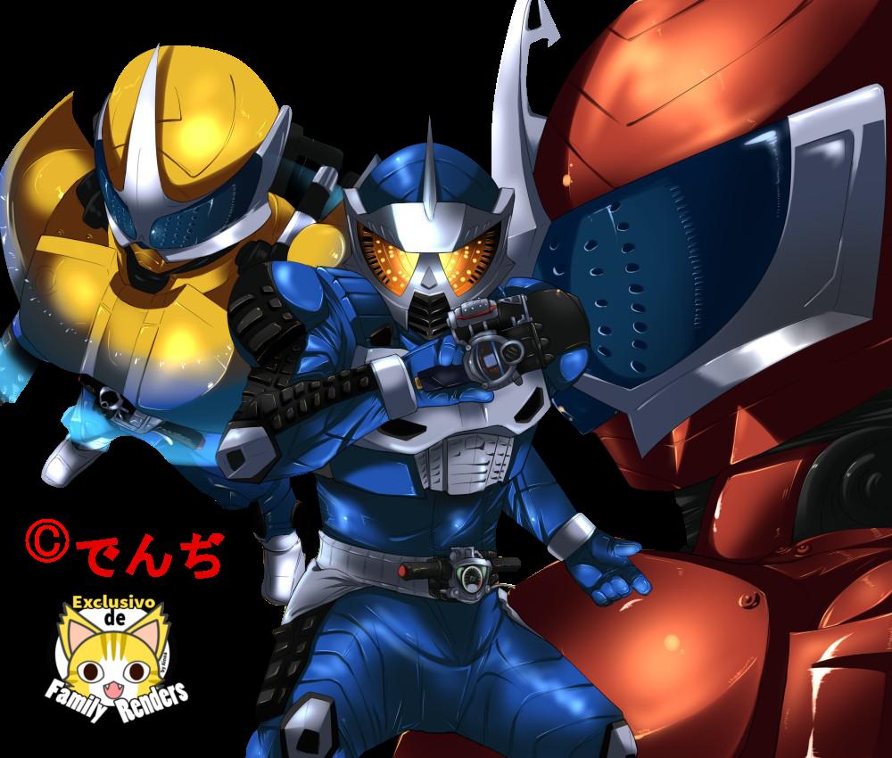 Render Kamen Rider Accel Trial Mode (Ryu Terui)