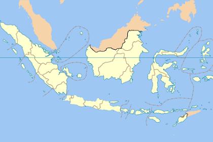 34 Provinsi di Indonesia Beserta Ibukota, Luas Wilayah dan Tanggal Diresmikan