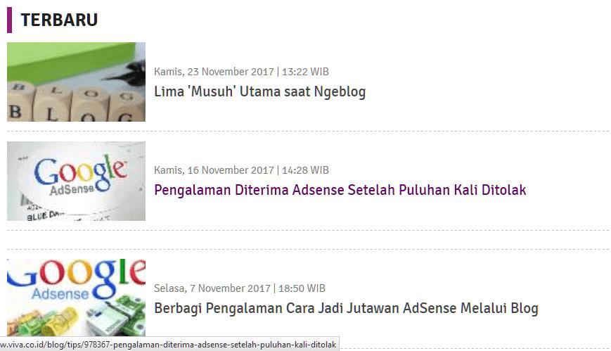 cara mengirim artikel
