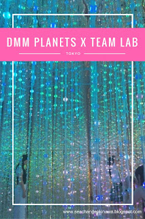 DMM Planets x Team Lab in Tokyo is an amazing art installation open over the summer. It it definitely worth checking out other Team Lab exhibitions throughout the world