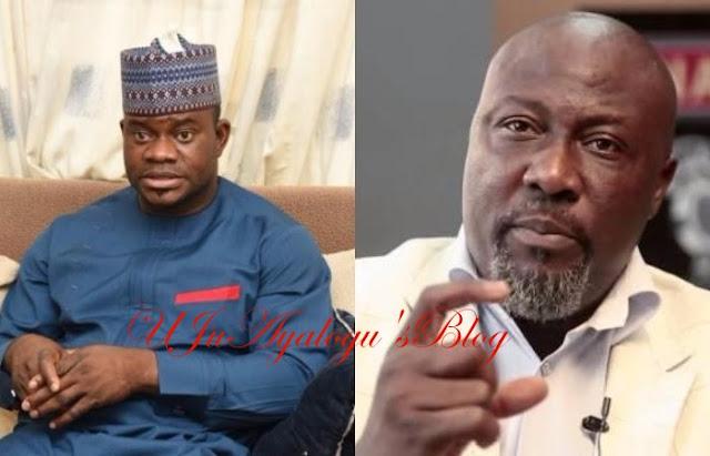 Yahaya Bello, Udom Emmanuel 'clash' over Dino Melaye