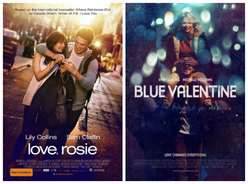 "A Spontaneous post on ""Blue Valentine"" and the feelings involved"
