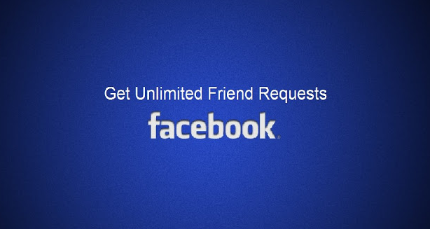Unlimited Friend Requests within a week