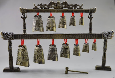 A set of Chinese bells