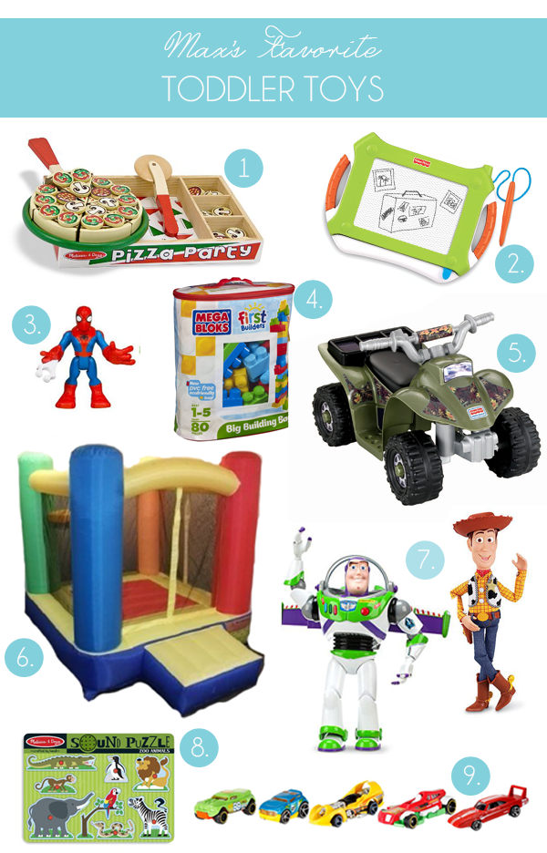 Our Favorite Toddler Toys for Boys