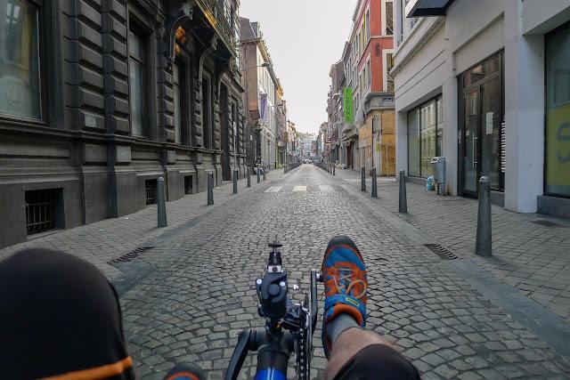 Tour de la Belgique en vélo,Liège