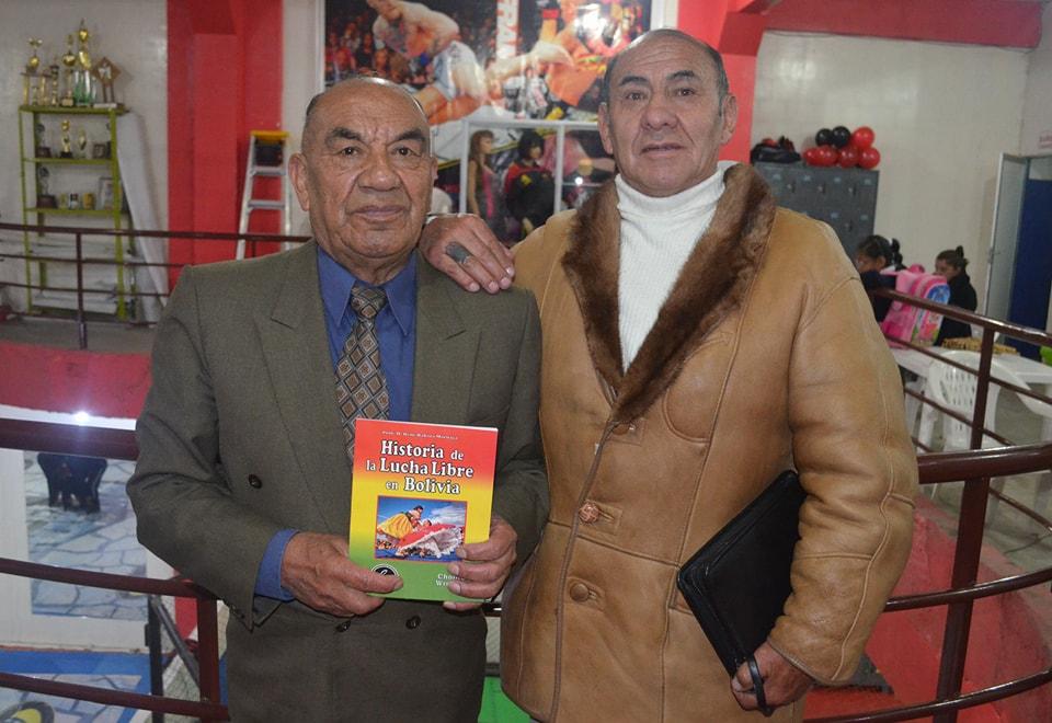 El autor presentó su libro en El Alto y La Paz / ALBERTO MEDRANO
