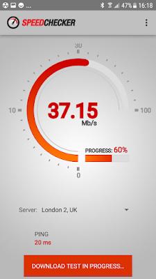 تطبيق Internet Speed Test مهكر للأندرويد
