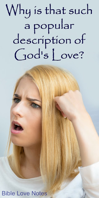 Would You Keep Using a Misleading Description for God's Love?