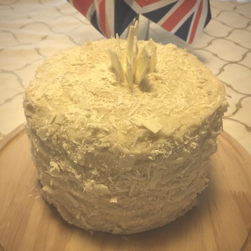 change the word: my take on the royal wedding cake