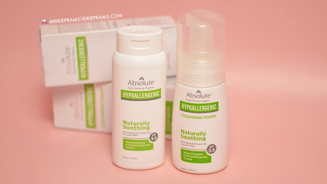 Merawat Area Kewanitaan dengan Absolute Hypoallergenic - beauty blogger indonesia - ririeprams