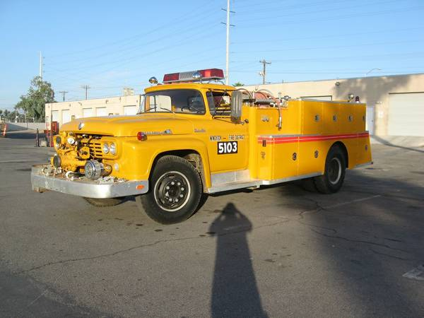 1959 Ford F800 Fire Truck