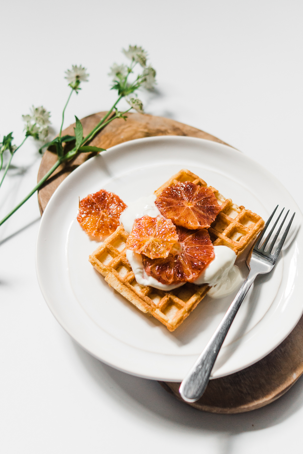 food-photography-blood-orange-waffles-recipe-gluten-free-Barely-There-Beauty-blog