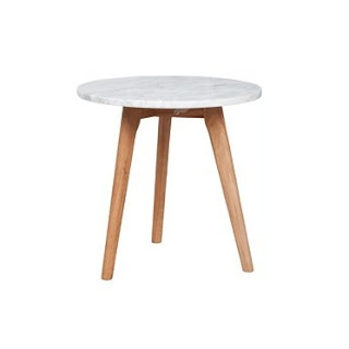 Table d'appoint danish marbre