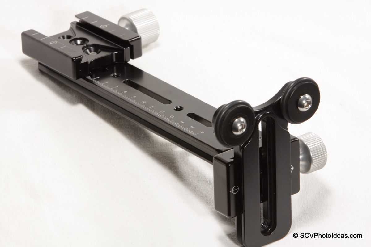 Versatile Long Lens Support Bracket assembled - full view