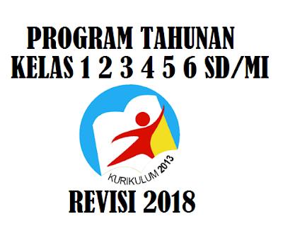 Prota Kelas 6 SD MI Kurikulum 2013 Tahun 2018