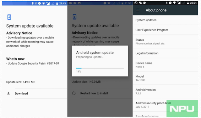 Nokia 6 gets July Android security patch