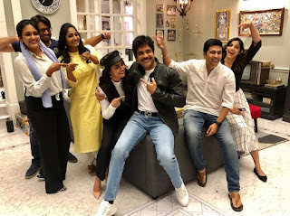 Keerthy Suresh with Cute and Awesome Smile with Manmadhudu2 Team