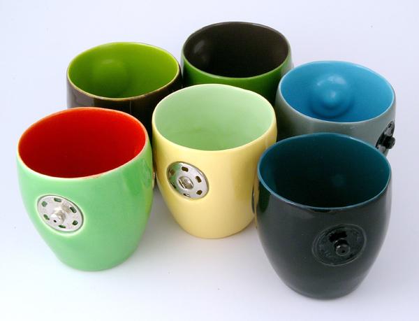 Taza de cerámica fuera de lo común