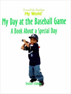 bookcover of MY DAY AT THE BASEBALL GAME: A Book About A Special Day by Heather L. Feldman