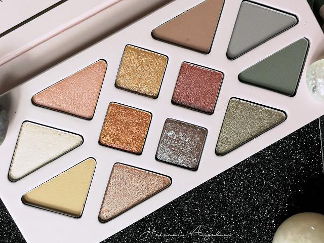 palette ombretti shimmer, duochrome, metal e matte