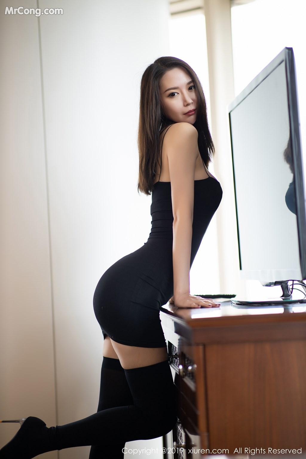 Image XIUREN-No.1720-Meng-Xin-Yue-MrCong.com-003 in post XIUREN No.1720: Meng Xin Yue (梦心月) (81 ảnh)