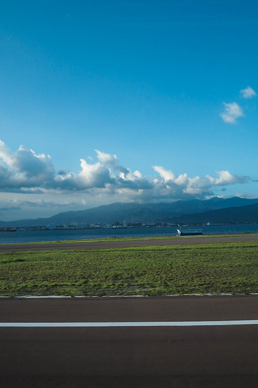 View from Kingston airport runway, Jamaica