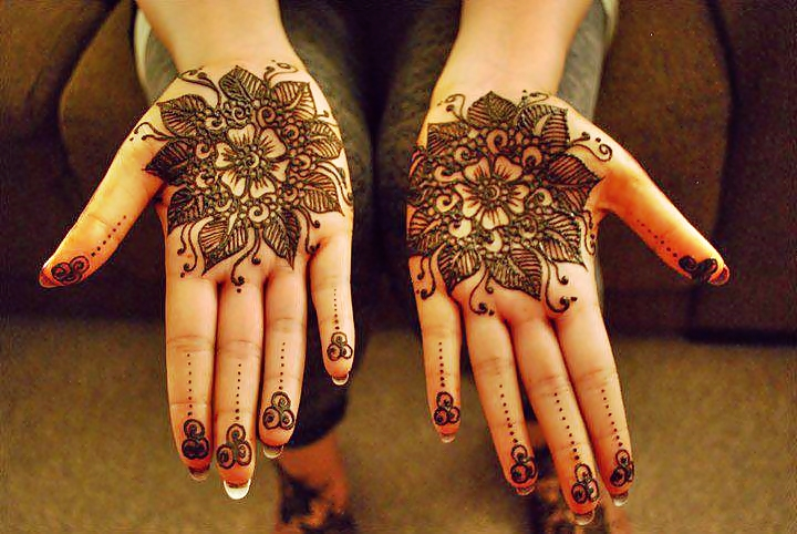 Mehndi Flower Designs For Hands : 15 stunning flower mehndi designs for eid bling sparkle
