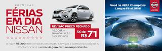 Promoção Férias em Dias Nissan
