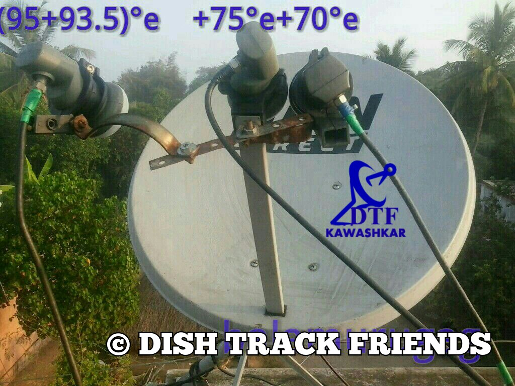 EUTELSAT 70B & ABS 2 & MEASAT 3A SATELLITE COVERAGE IN