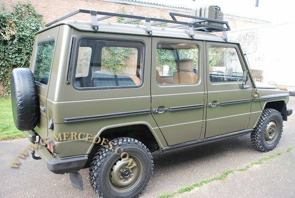 1982 Mercedes-Benz G-Class 300GD Military 4- door G-Wagon ...